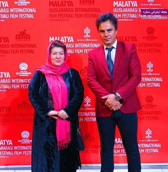 عکس احمد احمدی و پوران درخشنده در فستیوال فیلم مالاتیا