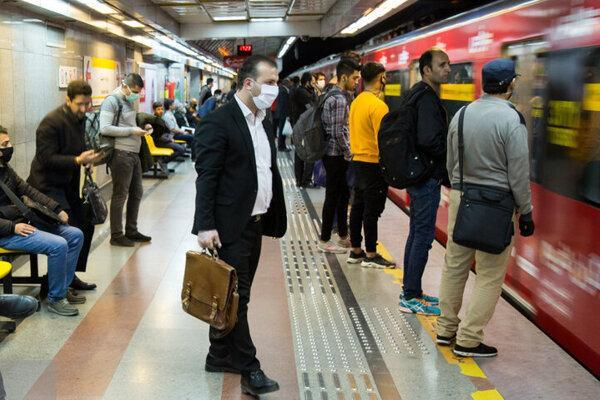 استفاده از ماسک در مترو اجباری شد