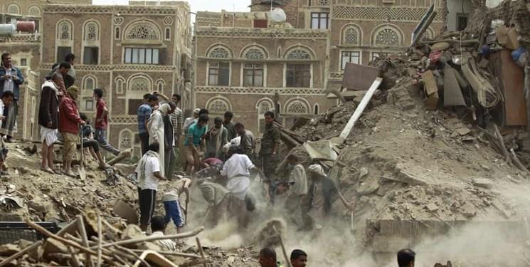 صنعاء: ائتلاف سعودی طی این هفته 221 بار یمن را بمباران کرد