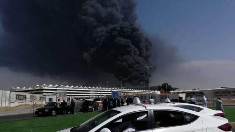 آتش سوزی این بار به عربستان رسید