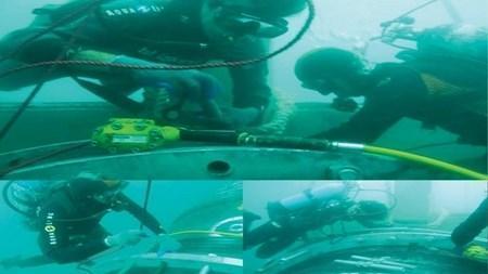 بومی سازی تجهیزات ترمیم خطوط لوله دریایی