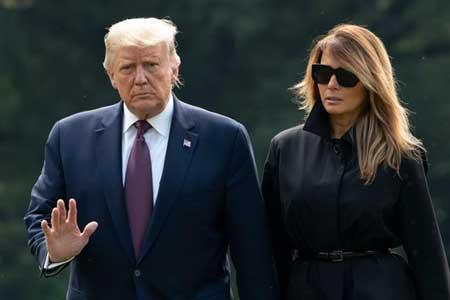 آزمایش کرونای ترامپ و همسرش مثبت شد