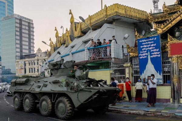 نگرانی سازمان ملل از تشدید سرکوب معترضان ضدکودتا در میانمار