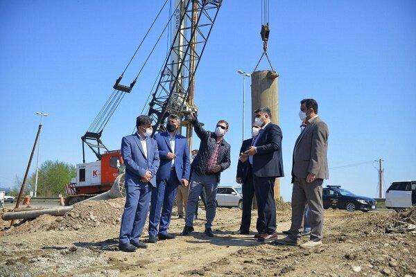 افزایش صد درصدی عملیات اجرایی راه آهن رشت - کاسپین