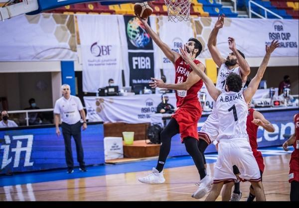 بسکتبال انتخابی کاپ آسیا، تیم ملی در اردن به میدان می رود