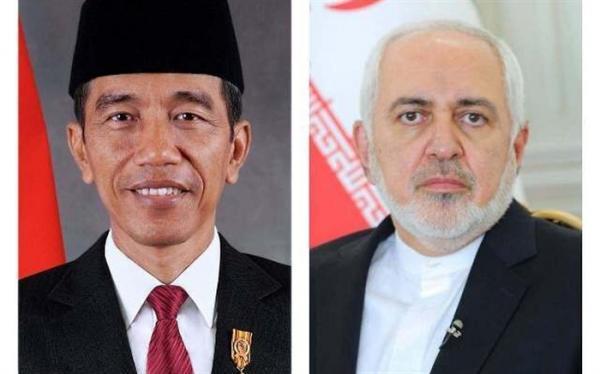 ظریف با رییس جمهوری اندونزی ملاقات کرد