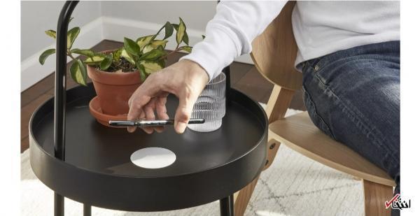 شارژر بی سیم قابل اتصال به میز