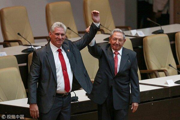 انتخاب دیاز کانل به عنوان جانشین رائول کاسترو